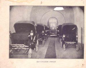 Esposizione di carrozze - Ditta f.lli Scala