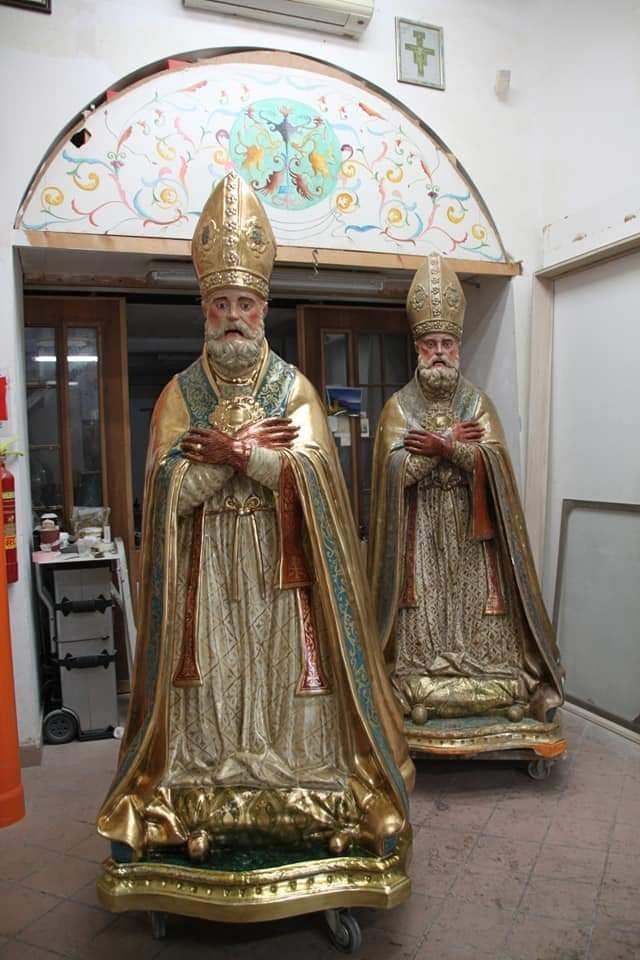 San Catello è semplicemente uno di noi, in ognuno di noi. San Catello non è di legno, nè di resina...