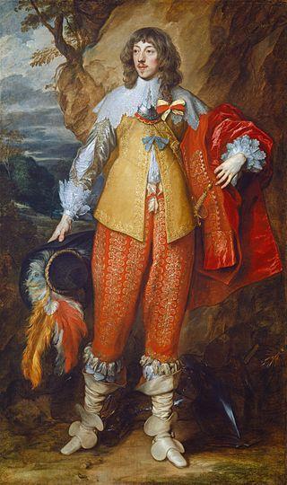 Anthonis van Dyck, Ritratto di Enrico di Guisa