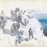 Fra oppstigningen til Monte S. Angelo, 14-09-1820, 210 x 279 mm