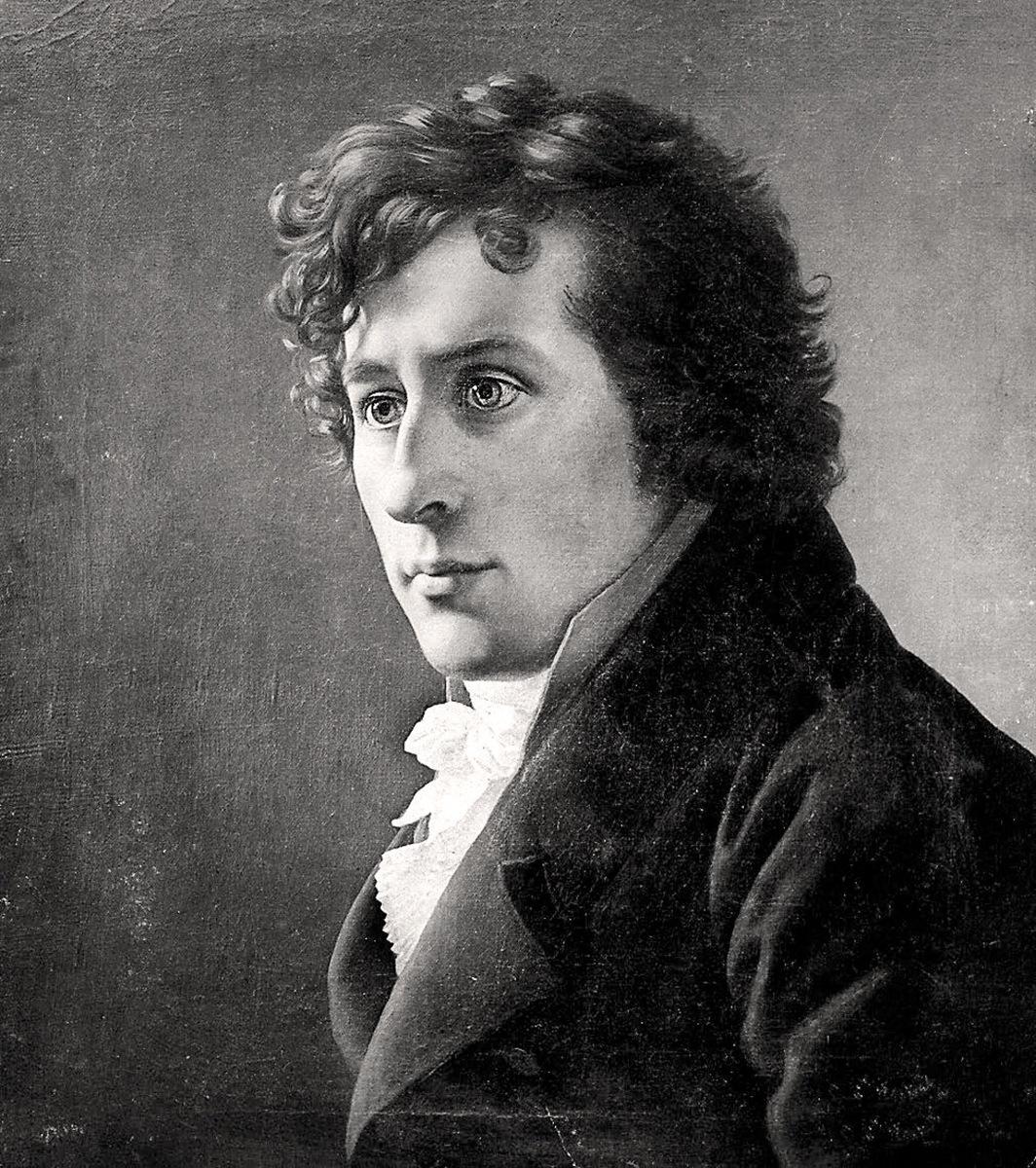 J.C. Dahl di C.W Eckersberg, 1818