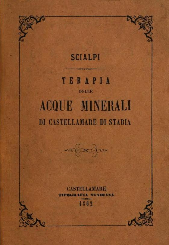 Scialpi, Terapia delle Acque di Castellammare, 1862