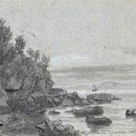 Stranden ved Castellammare, 15-10-1820