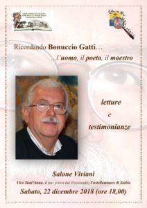 Ricordando Bonuccio Gatti