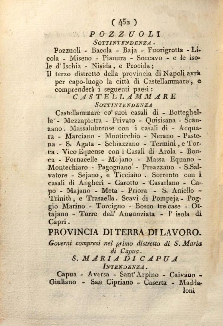 Collezione degli editti, determinazioni, decreti e leggi di S.M., pag. 452