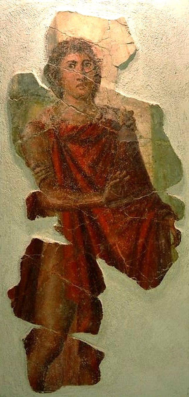 Ippolito affresco da Stabiae Antiquarium stabiano