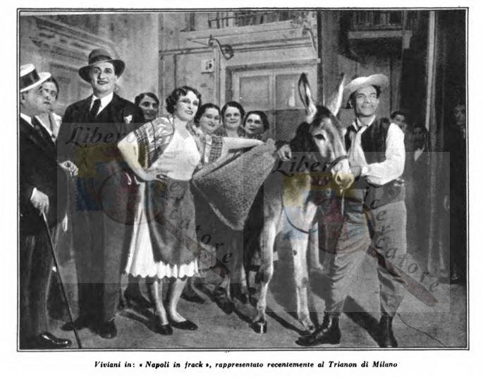 Viviani in : Napoli in frak al teatro Trianon di Milano
