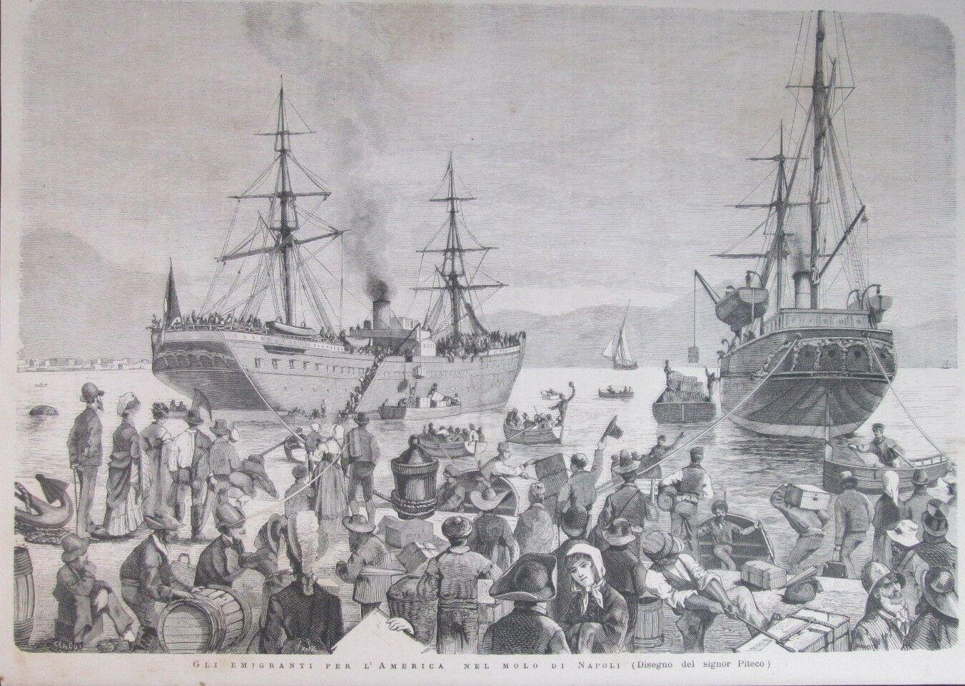 Emigranti dal Porto di Napoli