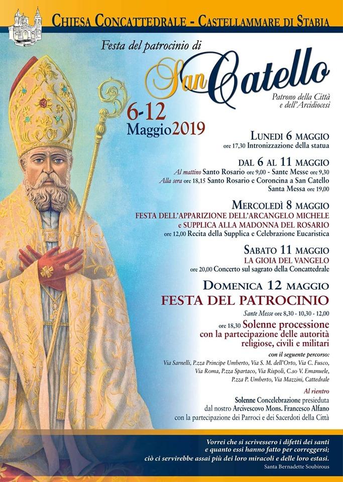 Festa del Patrocinio di San Catello- maggio 2019