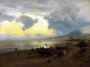Oswald Achenbach, Verso il Vesuvio