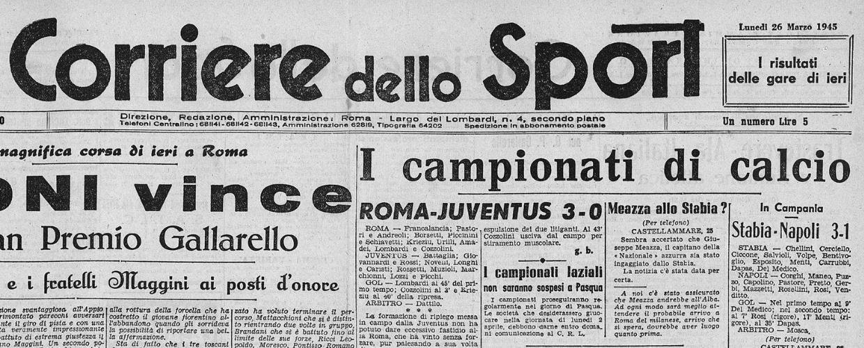Il Corriere dello Sport 26-03-1945