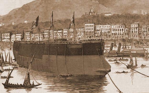 La nave corazzata Duilio