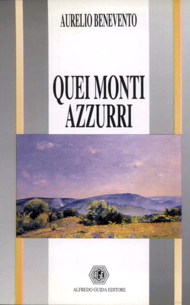 Aurelio Benevento, Quei monti azzurri, copertina