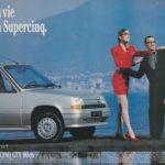 Anno 1987 - Pubblicita' della renault 5 a Castellammare