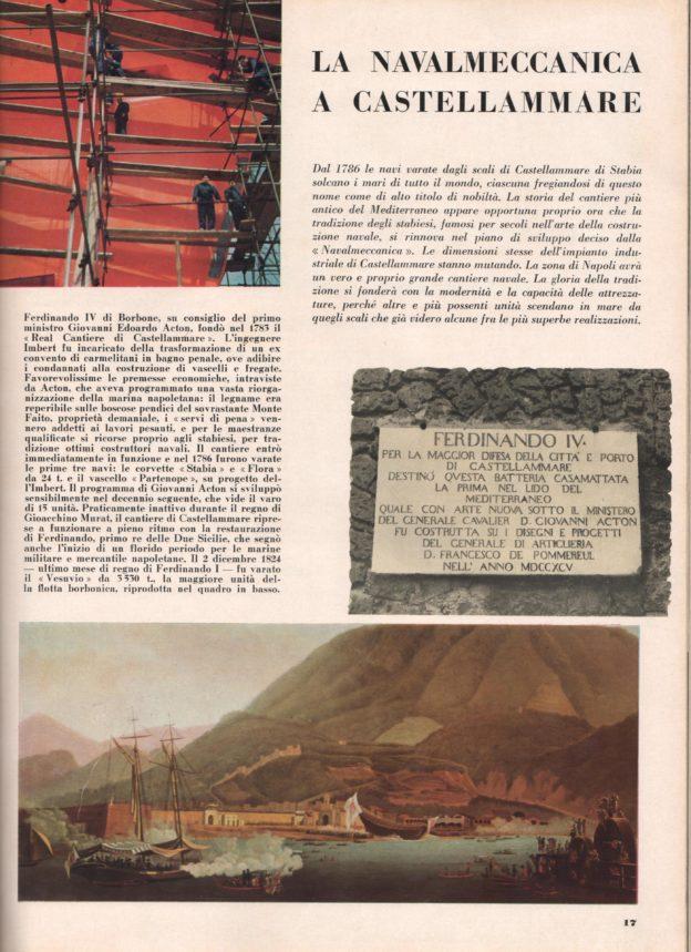 La Navalmeccanica a Castellammare