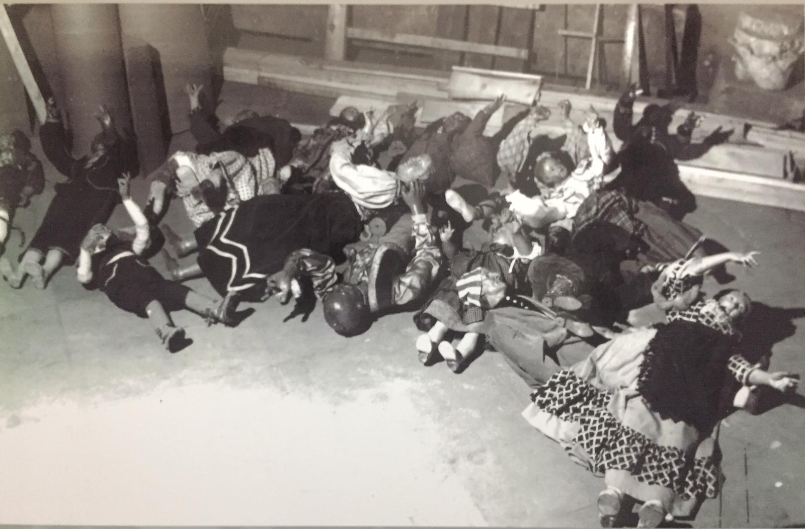 Pastori prima del restauro (foto archivio)