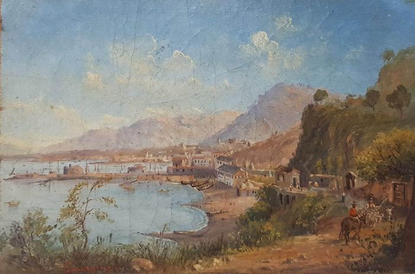 Veduta di Castellammare - Gabriele Smargiassi