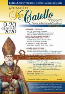 Solennità di San Catello - locandina