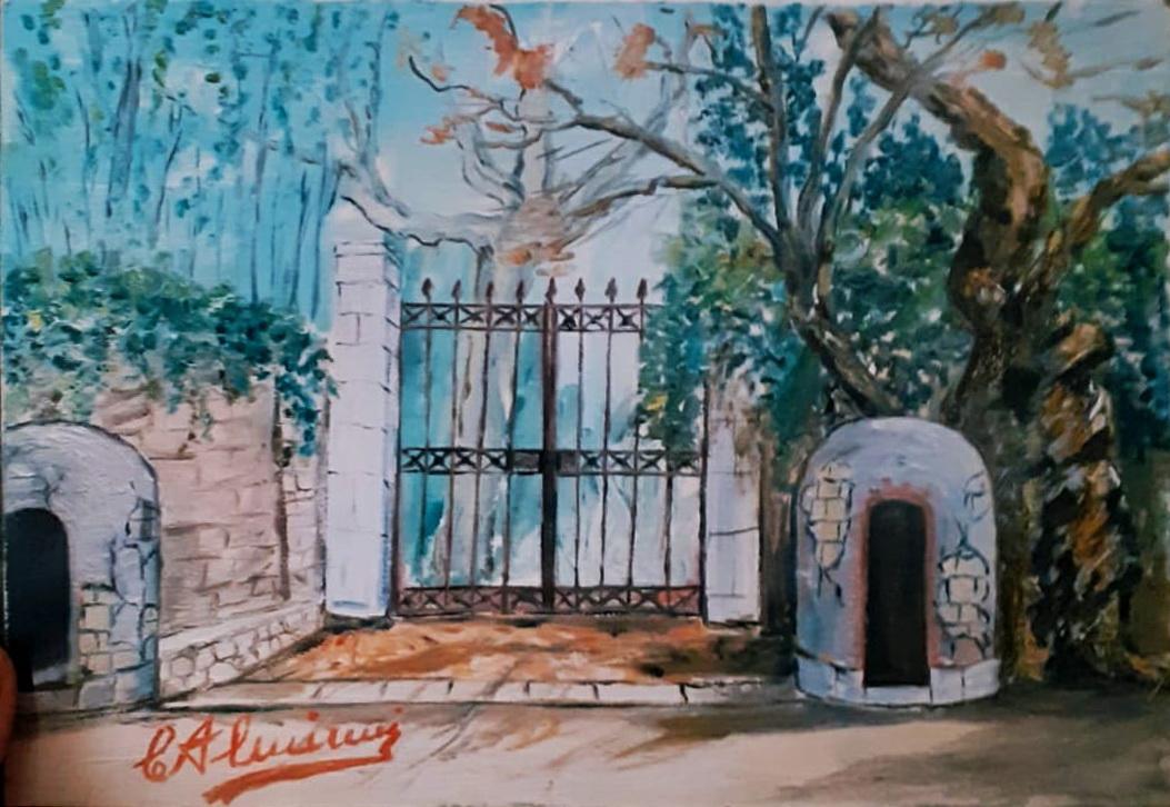 Ciro Alminni, dipinto