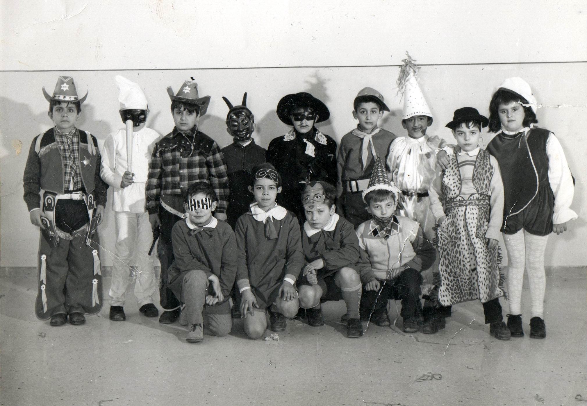 Castellammare di Stabia: Carnevale anno 1970