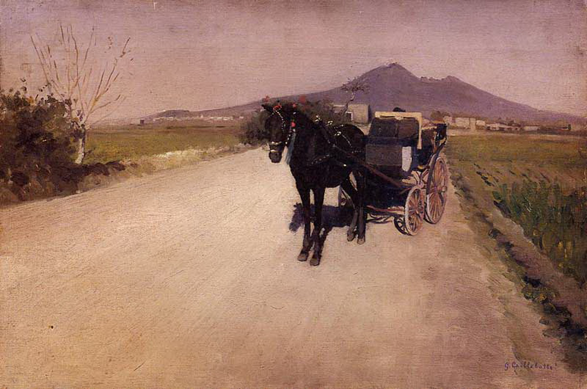 Gustave Caillebotte, A road near Naples