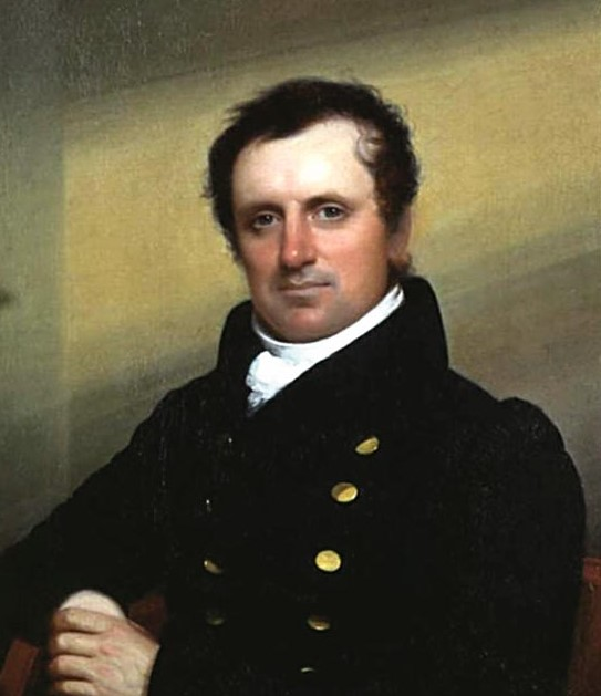 James Fenimore Cooper, by Jarvis