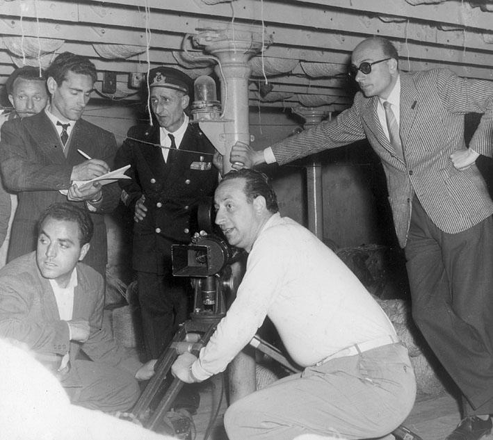 Anno 1953 - Massimo Montefusco aiuto regista.