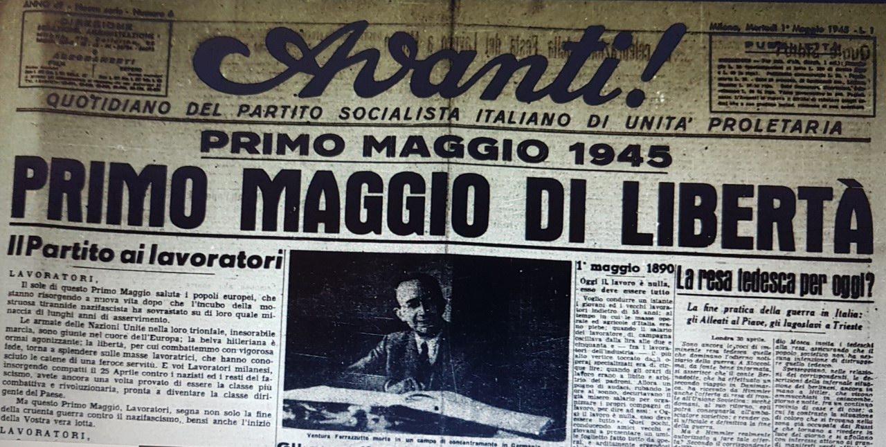 Avanti - Primo Maggio 1945