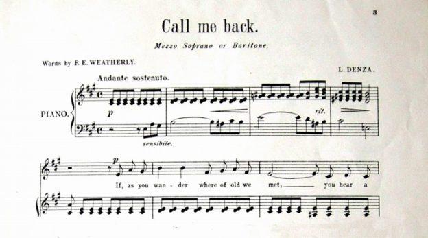 Call me Back (coll. Giuseppe Zingone)