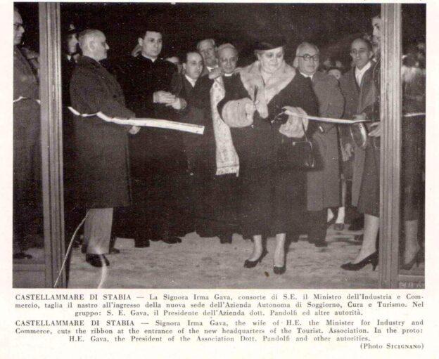 Inaugurazione Azienda di cura soggiorno e turismo