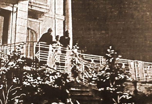 Ugo Cafiero e famiglia