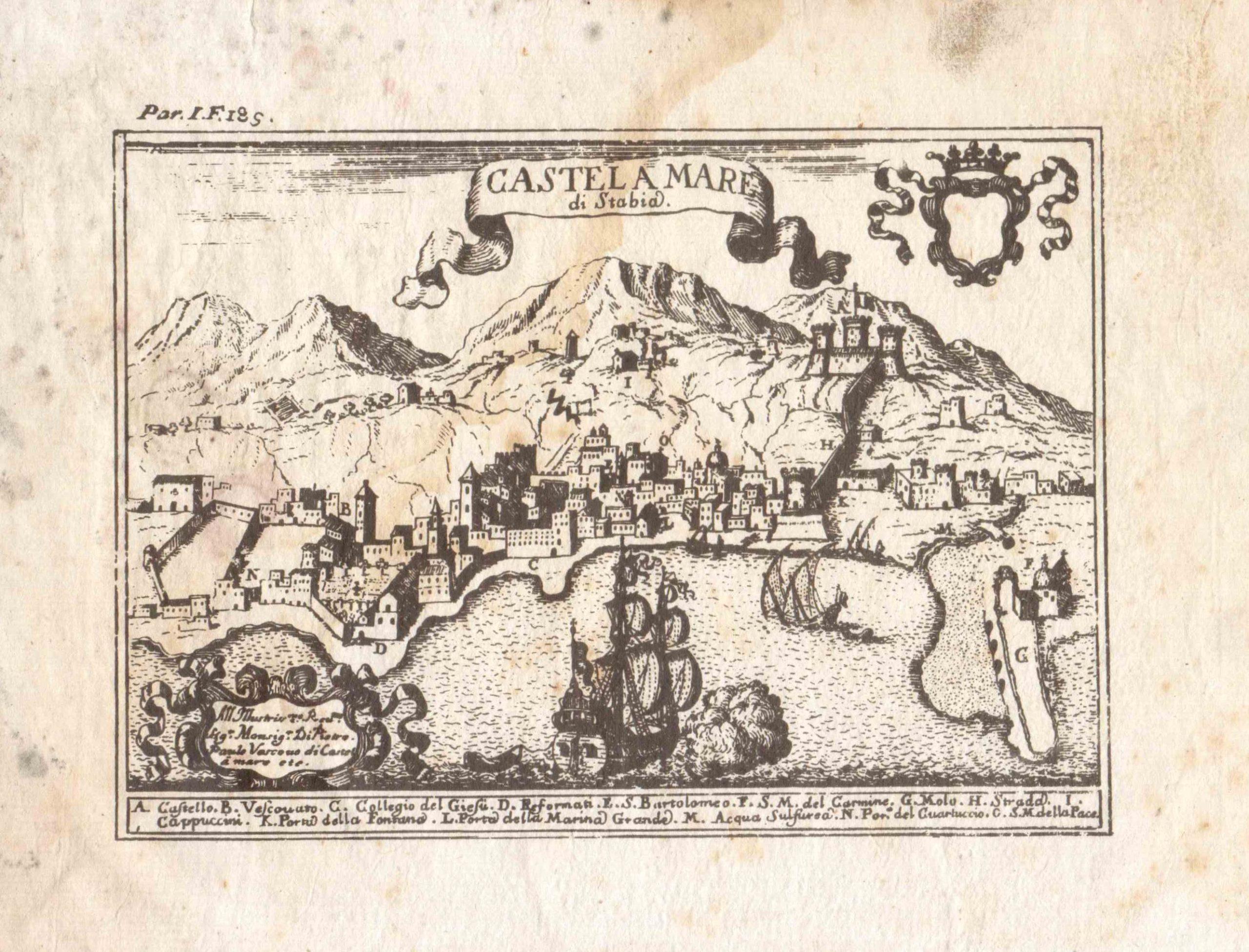 """G. B. Pacichelli """" Regno di Napoli in Prospettiva…."""" (coll. Gaetano Fontana)"""