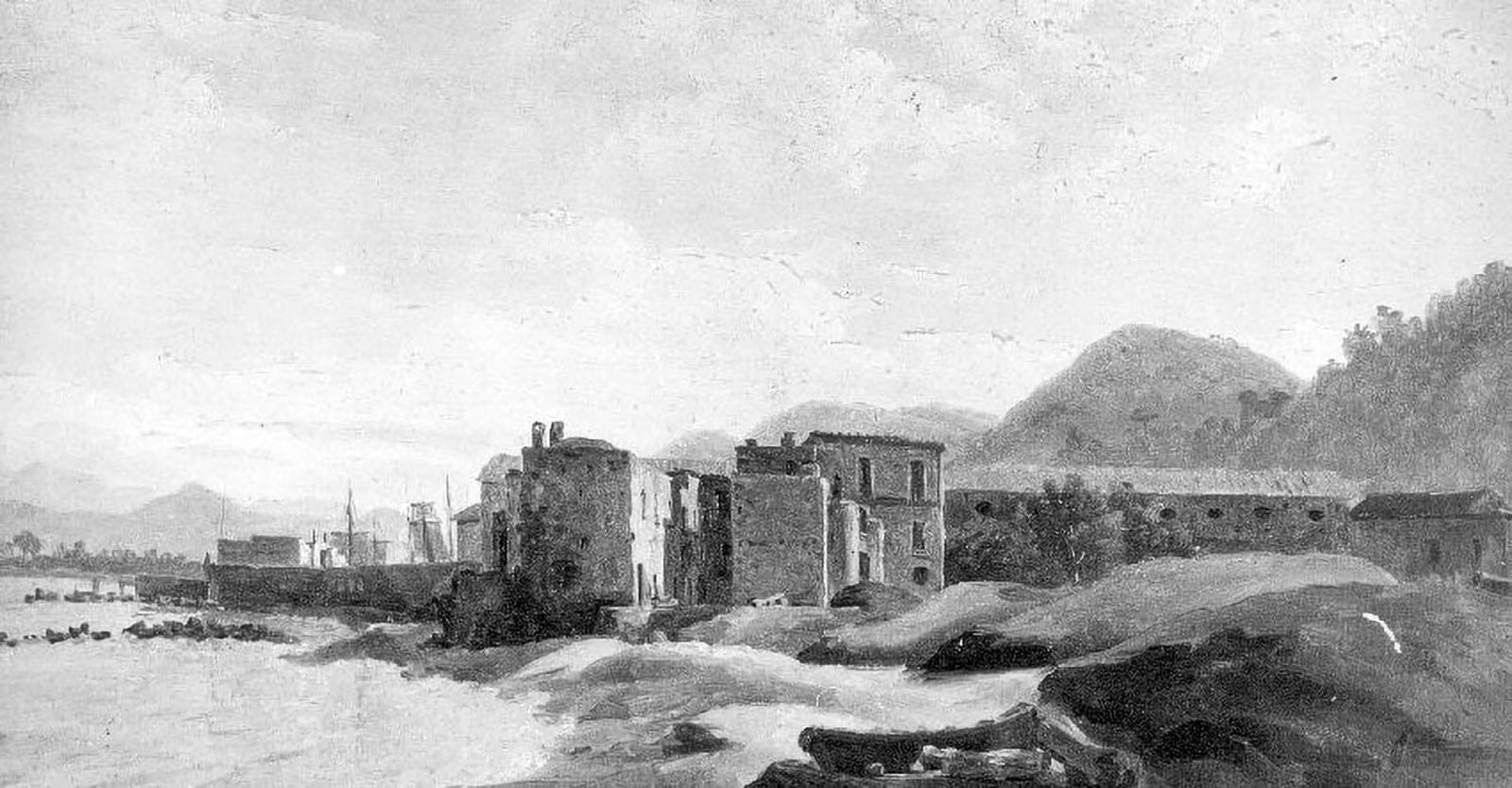 Closson, Gilles François, Castellamare et son fort