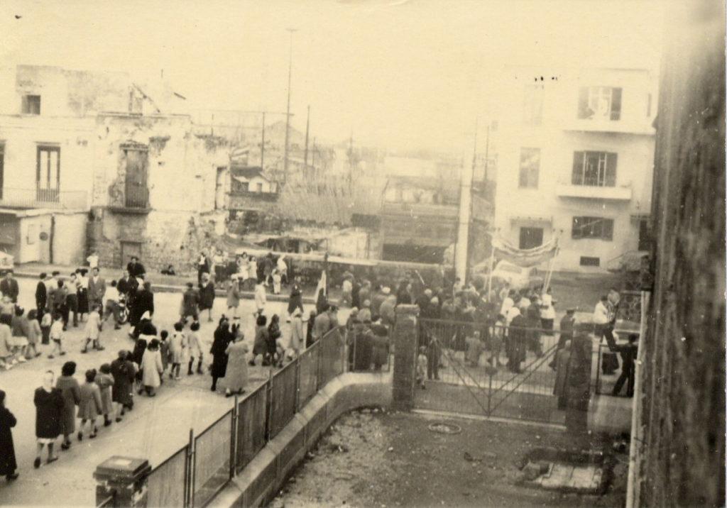 Anni '50 - Processione al rione Spiaggia