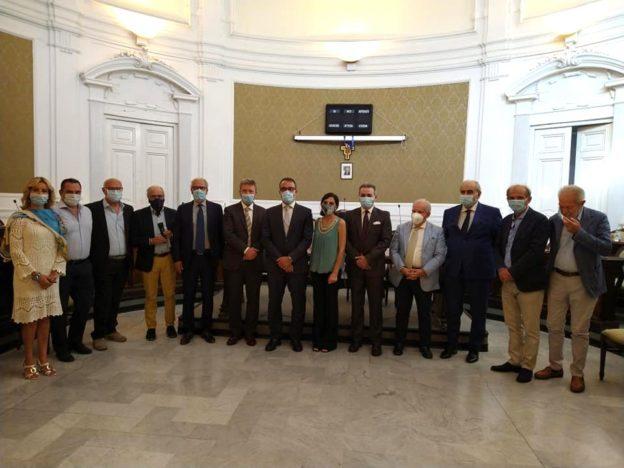 Delegazione del Comitato d'onore per la candidatura