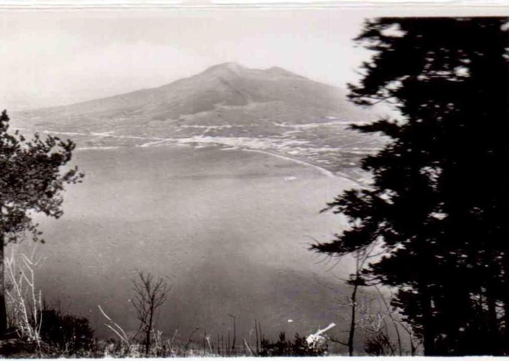 Panorama col Vesuvio