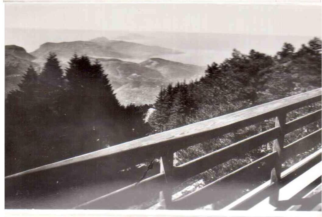 Capri vista da Monte Faito