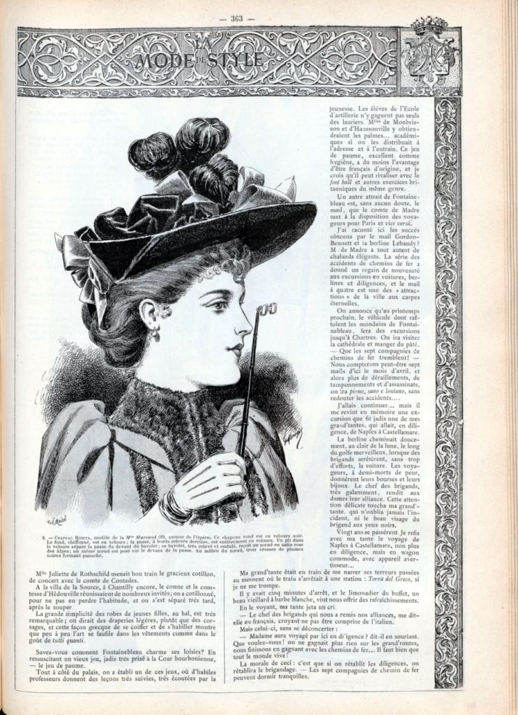 La mode De Style, rivista illustrata di eleganze parigine 2