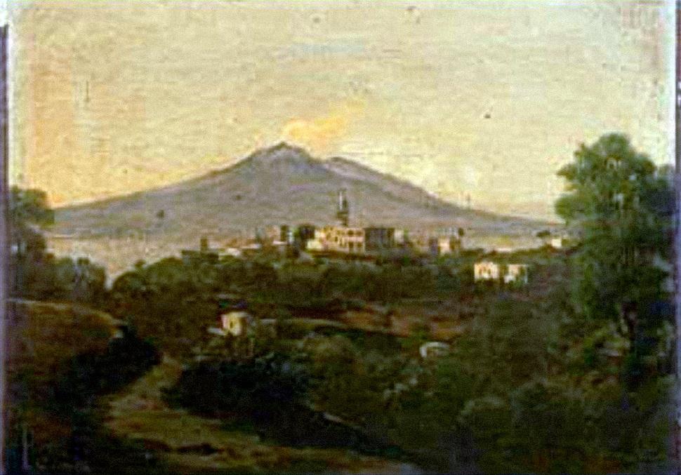 Ernest-Joachim-Dumax-Le-Vesuve-et-la-Baie-de-Naples