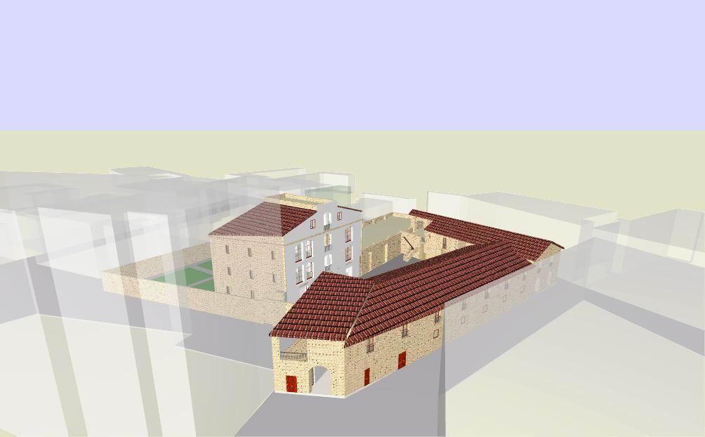 Fig. 5 Lo Stallone visto da Piazza Principe Umberto