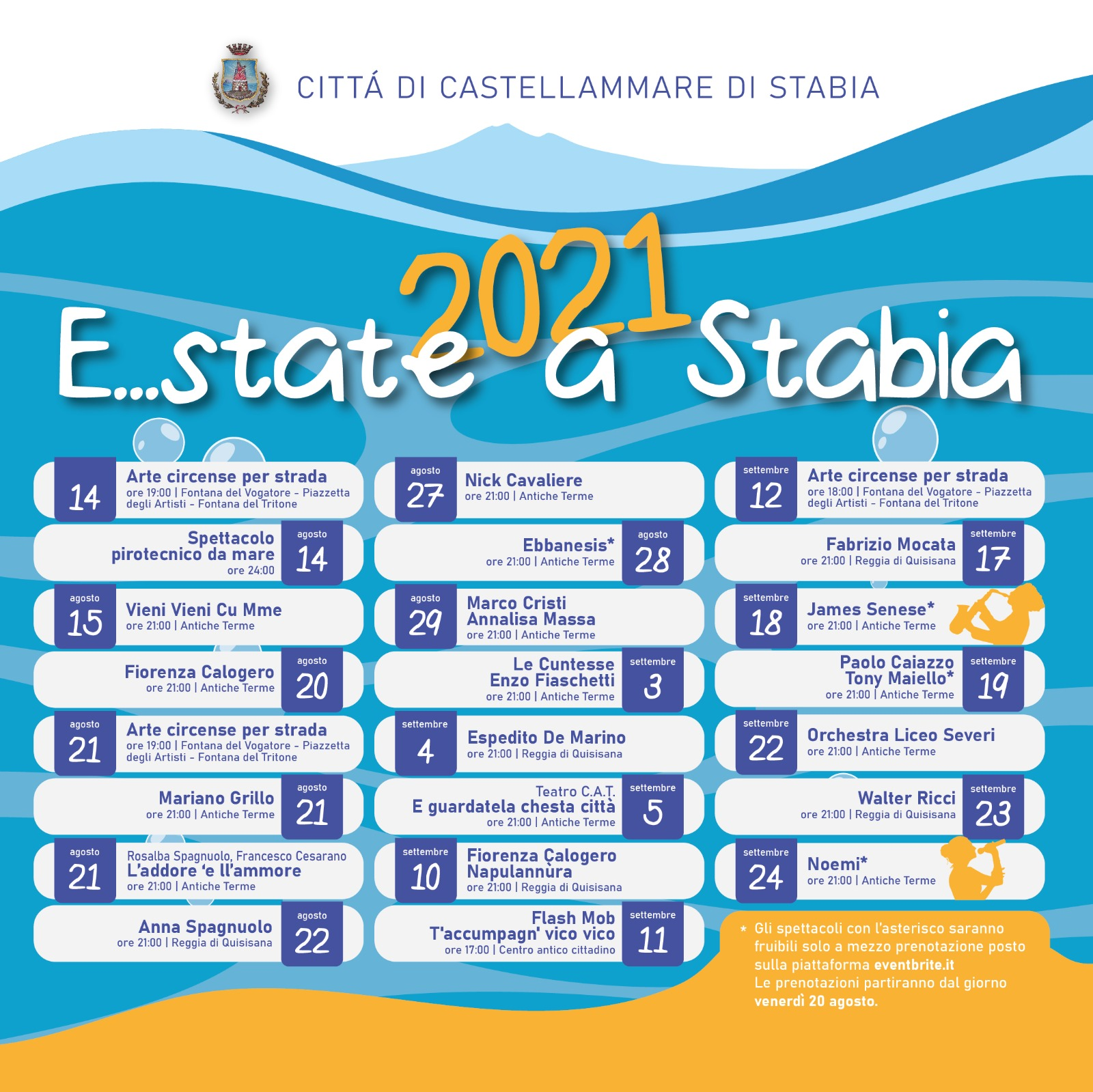 E...state a Stabia 2021