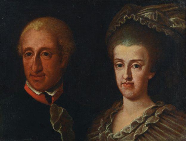 Ferdinando IV di Borbone e Maria Carolina d'Austria
